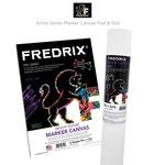 Fredrix Artist Series Marker Canvas Pad & Roll