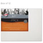 """Fredrix Archival Canvas Boards Cotton Duck - Box of 12 8x10"""""""
