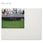 """Fredrix Archival Canvas Boards Linen - Box of 12 11x14"""""""