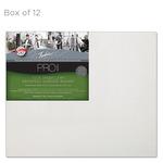 """Fredrix Archival Canvas Boards Linen - Box of 12 12x16"""""""
