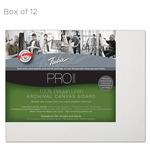 """Fredrix Archival Canvas Boards Linen - Box of 12 8x10"""""""