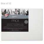 """Fredrix Archival Canvas Boards Oil Primed Linen - Box of 12 11x14"""""""