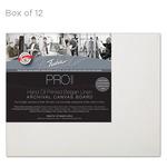 """Fredrix Archival Canvas Boards Oil Primed Linen - Box of 12 8x10"""""""