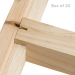 Gallery Pro Cross Brace Box of 20 - Type T 72""