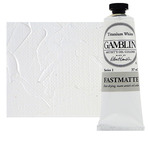 Gamblin FastMatte Alkyd Oil Colors 37 ml Tube - Titanium White