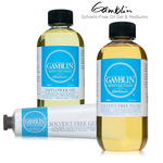 Gamblin Solvent-Free Gel, Fluid & Safflower Oil Mediums