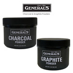 General's Charcoal & Graphite Powders
