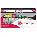 Daler-Rowney Georgian Oil Color Selection Set of 10, 38ml Tubes