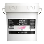 Liquitex Basics Acrylic Gesso Medium Gesso 1 gallon