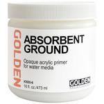 GOLDEN Absorbent Ground 16oz White Jar