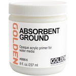GOLDEN Absorbent Ground 8oz White Jar