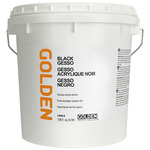 GOLDEN Black Gesso 1 Gallon