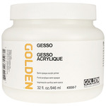 GOLDEN White Gesso 32 oz Jar