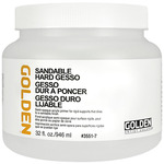 GOLDEN Sandable Hard Gesso 32 oz Jar