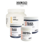 GOLDEN Gesso - White, Black & Sandable