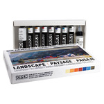 Golden OPEN Acrylic Set of 8 22ml Tubes - Landscape Colors
