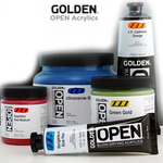 GOLDEN Open Acrylic Colors