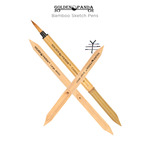 Golden Panda Bamboo Sketch Pens