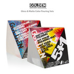 GOLDEN Pouring Gloss & Matte Medium Sets With Fluid Acrylics