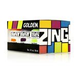 Golden SoFlat Matte Acrylic 2 oz Zing Set Of 6