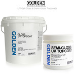 GOLDEN UV Gel Gloss & Semi-Gloss Topcoats