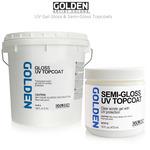 GOLDEN UV Gel Gloss & Semi-Gloss Topcoats