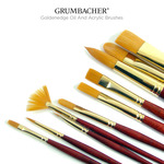 Grumbacher Goldenedge Oil And Acrylic Brushes