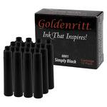 12-Pack Goldenritt Cartridge Simply Black 0001
