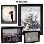 Gotham Black Extra-Deep Gallery Frames