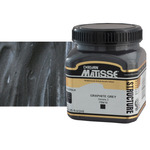 Matisse Structure Acrylic Colors Graphite Grey 250 ml