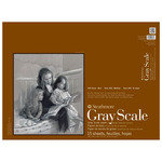 "Strathmore 400 Series 18x24"" Gray Scale Pad Assorted Colors"