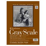 """Strathmore 400 Series 9x12"""" Gray Scale Pad Assorted Tints"""