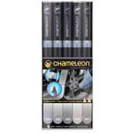 Chameleon Marker Set Of 5 - Gray Tones