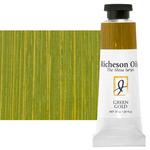 Shiva Signature Permanent Artist Oil Color 37 ml Tube - Green Gold