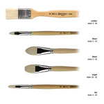 Global Arts Escoda Natural Chungking Bristle Brushes