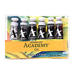 Grumbacher Academy Oil Bonus Set of 7 24ml Tubes