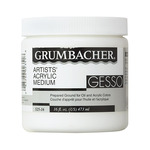 Grumbacher Acrylic Medium Gesso - 16oz