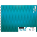 Grumbacher 90lb Mixed Media Pad 18X24in-50 Sheets Spiral In/Out