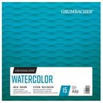 Grumbacher Watercolor 140lb Cold Press 12x12in Foldover Pad