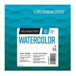 Grumbacher Watercolor 140lb Cold Press 6X6 Foldover Pad