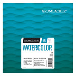 Grumbacher Watercolor 140lb Cold Press 8X8 Foldover Pad