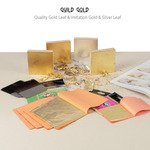 Guild Gold Quality Gold Leaf & Imitation Gold & Silver Leaf