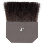 Gilders Tip Natural Squirrel Brush Double Thick 3 Inch