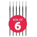 Hamburg Premier Brush Round sz. 12 Box of 6