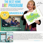 Home Art Studio Programs - Supplies & DVDs for Grades K-5