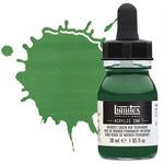 Liquitex Professional Acrylic Ink 30 ml Bottle Hookers Green Hue Permanent