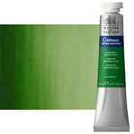 Winsor & Newton Cotman Watercolor 21 ml Tube - Hooker's Green Light
