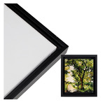 "Illusions Floater Frame 5x7"" Black for 3/4"" Canvas"