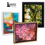 "Illusions Floater Canvas Frames 3/4"" Deep"