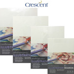 Crescent Cold Pressed Illustration Boards